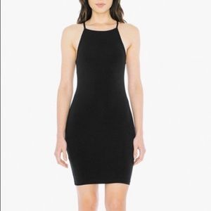 American apparel black dress size small